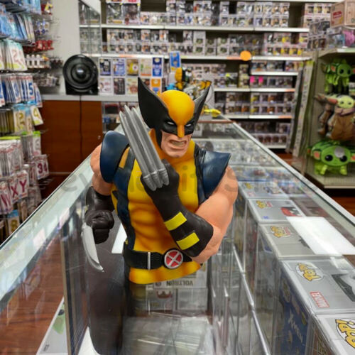 Wolverine PVC Molded Bust Bank Marvel Universe 3D Figure Collectible Coin Bank