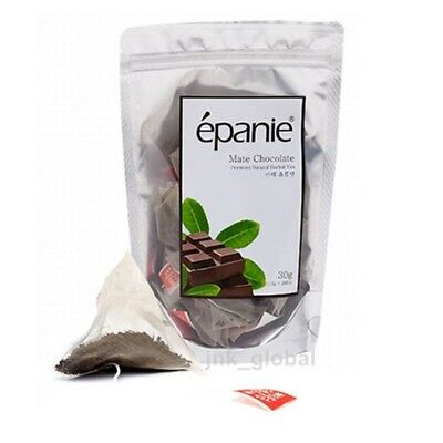 [Epanie] Mate Chocolate Natural Herbal Tea Caffeine-Free 20 Bags