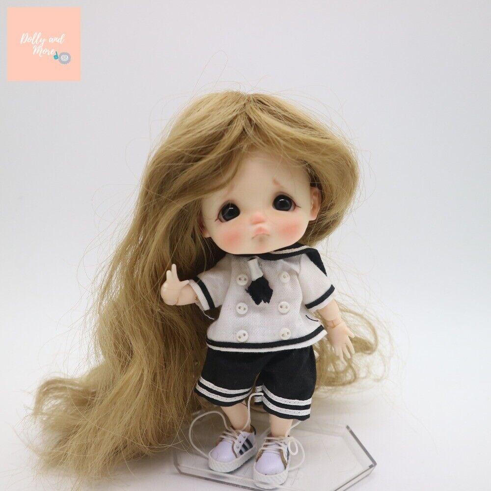bjd doll 1//8 bru Dislike gloomy foodie muñeca recast cute kawaii tiny anime dol