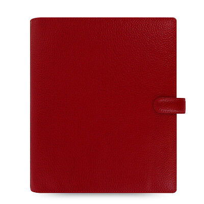 Filofax A5 Finsbury Organiser Planner Diary Cherry Red Leather -022498 Gift
