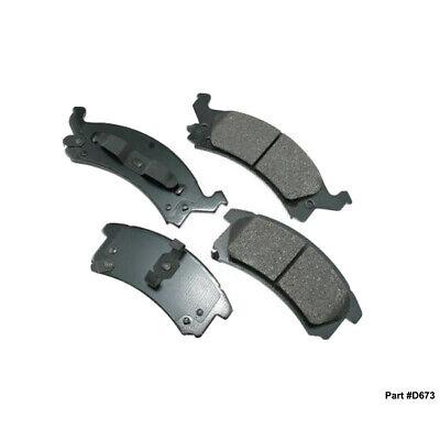 New Ceramic Front Brake Pad For Buick Skylark, Chevrolet Cavalier, Corsica D673