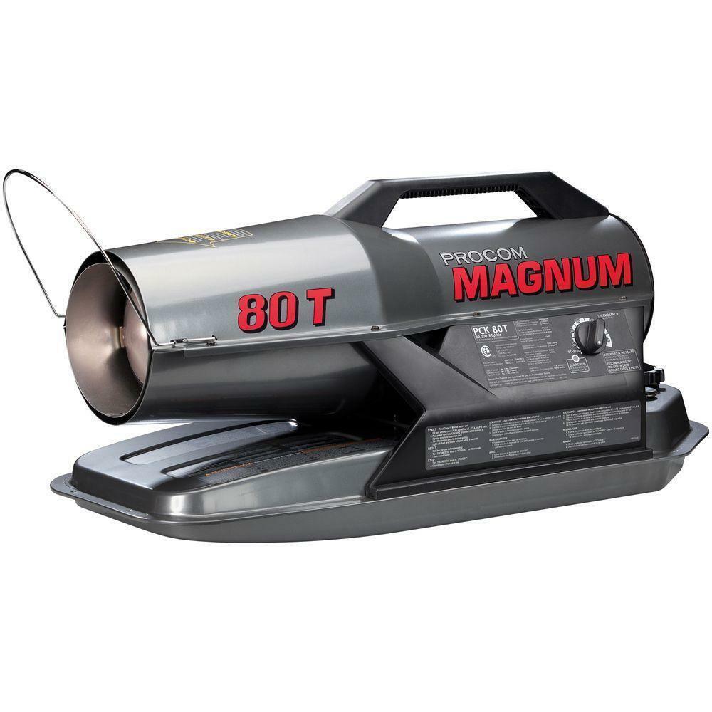 ProCom Portable Multifuel Commercial Heater - 80,000 BTU, Mo
