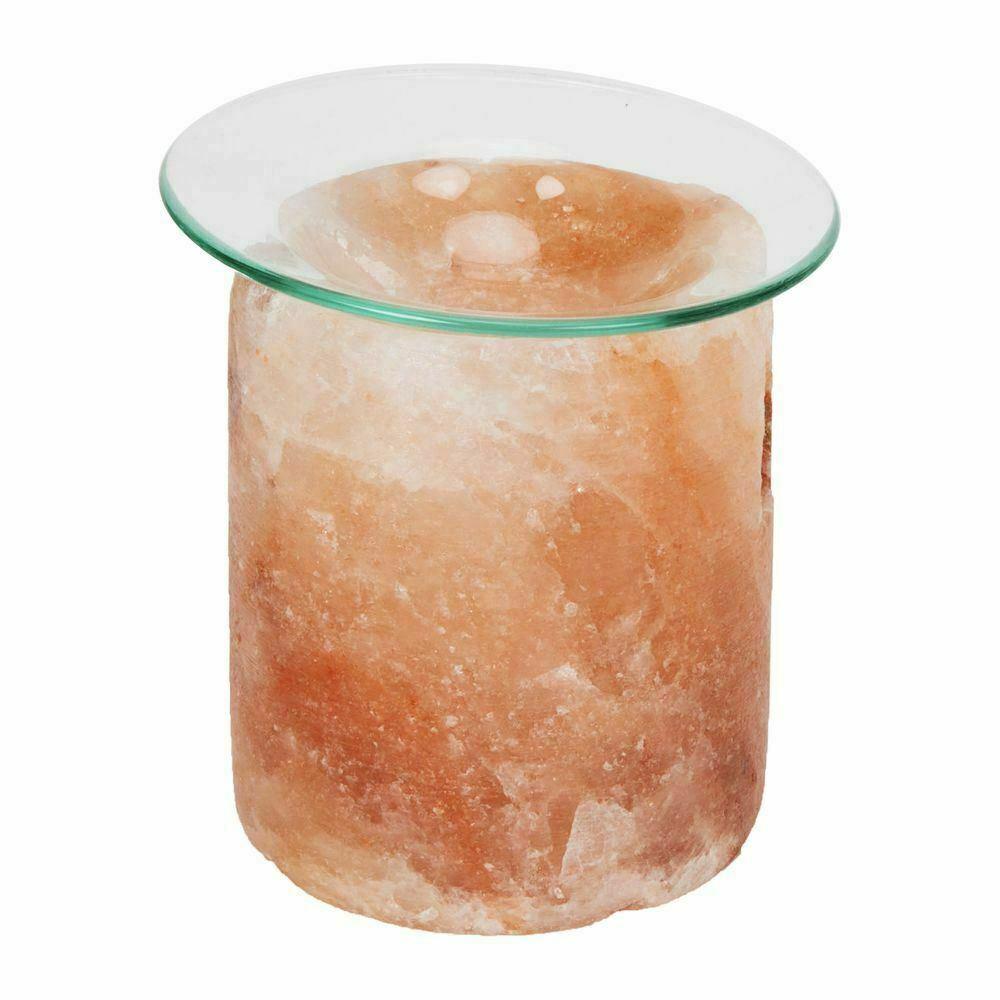 HomeLiving Himalayan Rock Salt Oil Burner Aromatherapy Lamp Air Natural Purifier