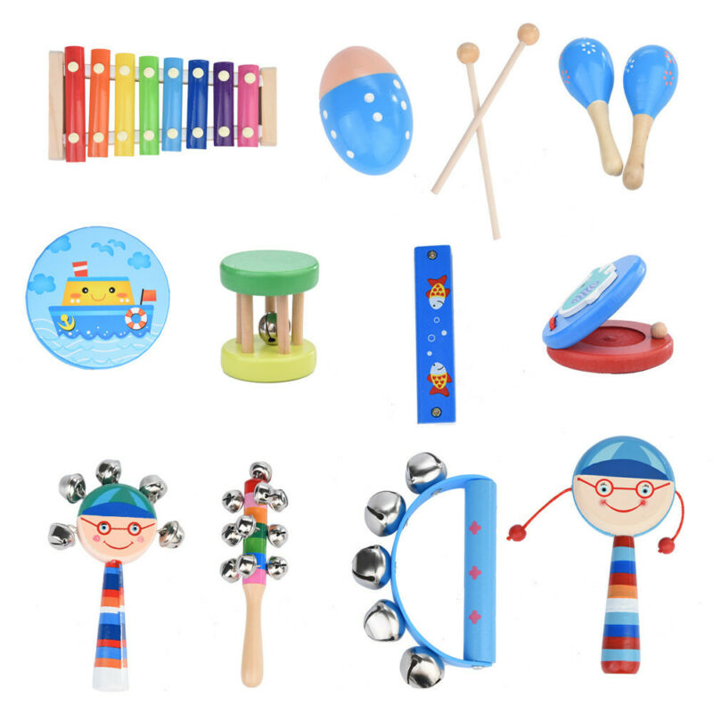 For Toddler Educational & Musical Percussion instruments for