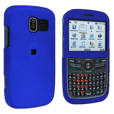 Blue Snap-On Hard Case Cover for Pantech Link - Cover Blue Snap