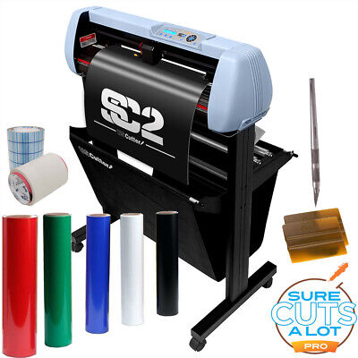 Uscutter Vinyl Cutter Sign Shop Starter Pack - 34 Sc2 Vinyl Tape Tools Mac