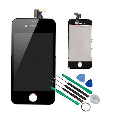 Replacement Assembly LCD Touch Screen Digitizer Glass OEM for iPhone 4S Black on Rummage