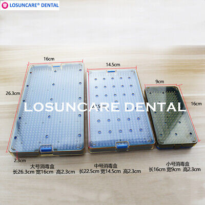 New Medical Sterilization Tray Case Box Eye Ophthalmic Surgical Instrument