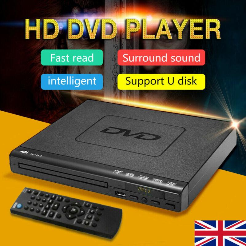 DVD Player mit HDMI und USB Anschluss Mediaplayer Upscaling schwarz USB 2.0 3.0