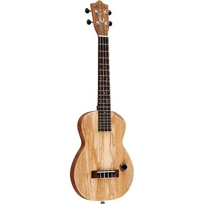 Lanikai Manana-T Hawaiian Solid Body Acoustic-Electric Tenor Ukulele Mango Top