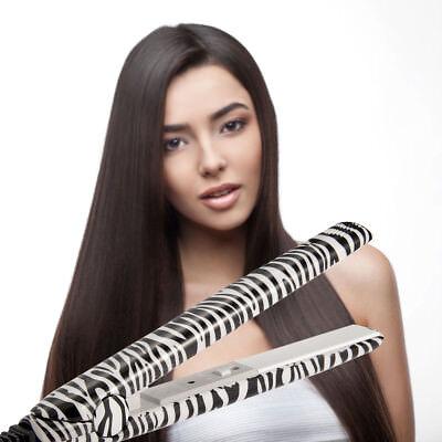 Zebra Print Hair Straightener Ceramic Hair Styling The Best Flat