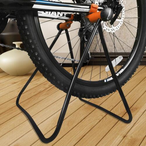 Ibera Bike Floor Stand Foldable Repair Rack Stand Wheel Hub Parking for Storage