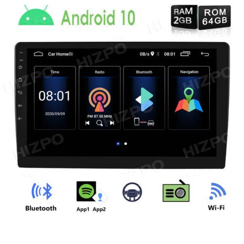"10.1"" Android10 Quad Core 2.5D Screen Car Navi Stereo Car Radio GPS Player 64GB"
