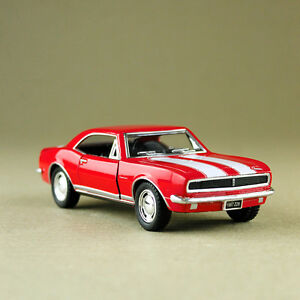 1967 Chevrolet Camaro Z/28 Red 1:37 Scale Die-Cast Model Car Pull-Back Unboxed