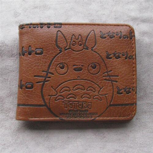 My Neighbor Totoro money clip Bifold Men Wallet Credit Card