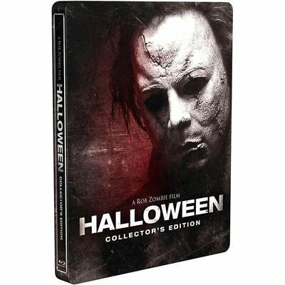 Halloween Rob Zombie Music (Halloween (2007, Rob Zombie) Blu-ray STEELBOOK no dents, no)