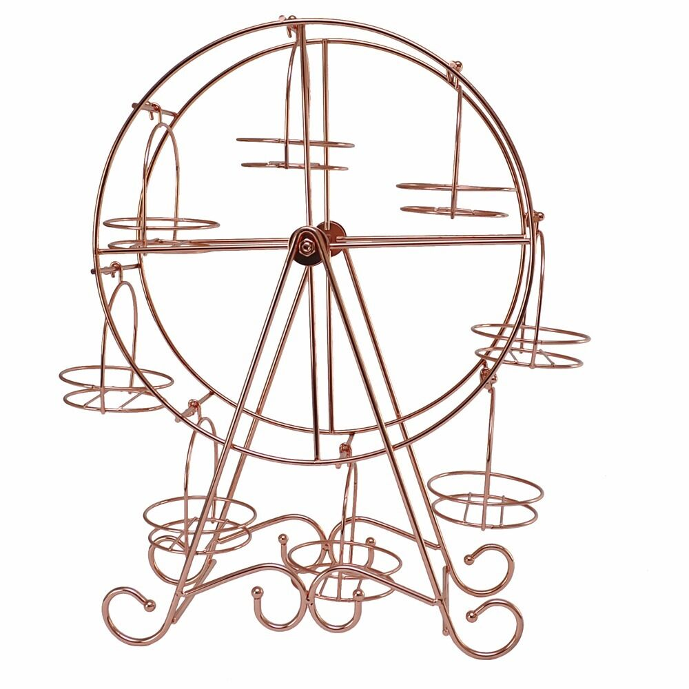 Copper Cupcake Holder Ferris Wheel In Rumney Cardiff