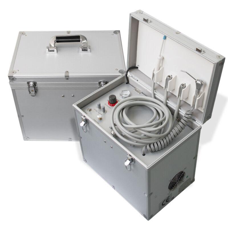 Portable Dental Delivery Unit /Three Way Syringe /Suction System 110V