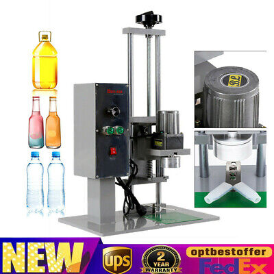 Desktop Automatic Electric Round Bottle Capping Machine Screw Capper 10-50mm