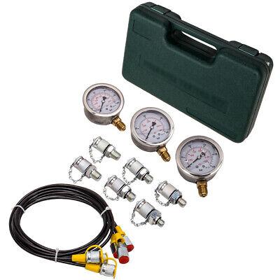 Hydraulic Pressure Gauge Tester Diagnostic Couplings Tool Kit M10x1.25