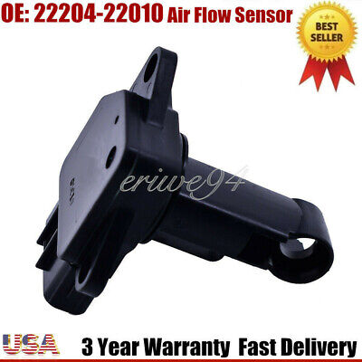 New 22204-22010 Mass Air Flow Meter MAF Sensor Fits for Toyota Lexus Scion US