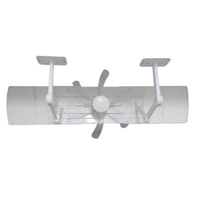 AIR Welling Fan, Length & Angle Adjustable Air Conditioner Deflector helps Cooli