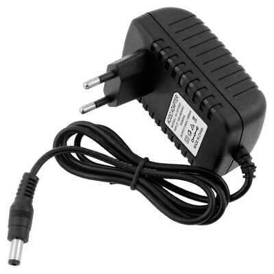 Cargador de Red 12V 1A DC 5.5mm Fuente Alimentación Conversor Conector EU...