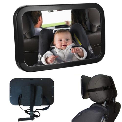 Auto Babyspiegel Sicherheit Kindersitz Rückspiegel Kids Fahrzeug Rücksitzbank