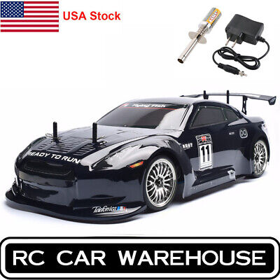 HSP RC Car 4wd 1:10 On Road Nitro Gas Touring Racing Two Speed RTR Drift -