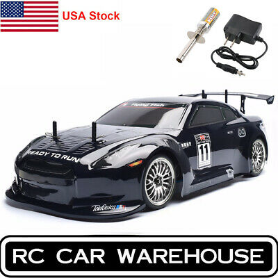 HSP RC Car 4wd 1:10 On Road Nitro Gas Touring Racing Two Speed RTR Drift Igniter