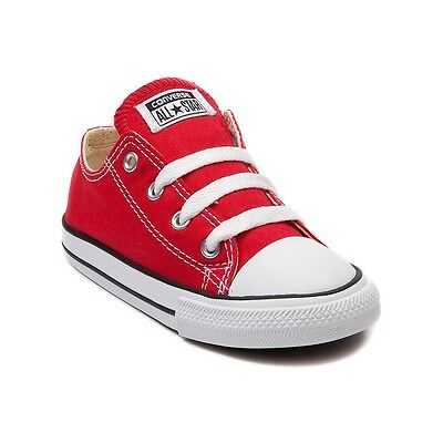 Infant Converse All Star (Converse All Star Low Chucks Infant Toddler Red Canvas Shoe 7J236 Free)