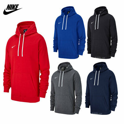Nike Mens Hoodie TEAM CLUB 19 JACKET Top Cotton Hoodies Gym Running