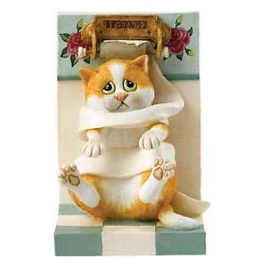 Comic & Curious Cats Wrapped Up Figurine New Boxed A25897