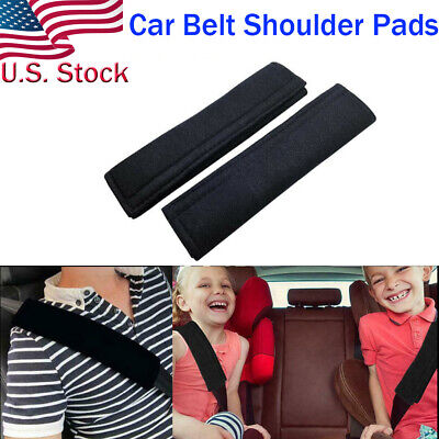Car Safety Seat Belt Shoulder Pads Cover Cushion Harness Comfortable Pad O3