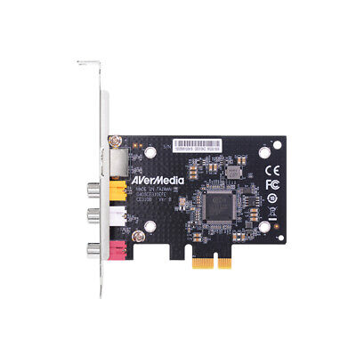AVerMedia SD PCIe Video Capture Card with Composite / S-Vide