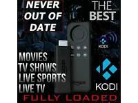 Amazon Fire TV Stick ✔Kodi 16.1✔Movies✔Boxsets✔Sports✔etc see reviews in pics