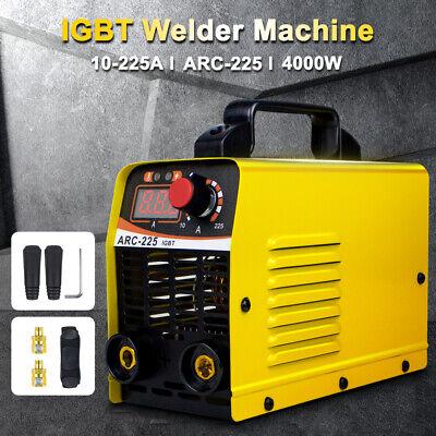 Mma Arc Inverter Igbt Welder 225a Handheld Stick Welding Machine 110v Us Plug