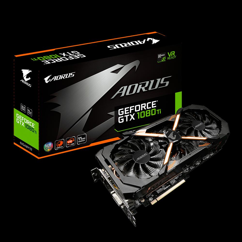 GIGABYTE AORUS NVIDIA GeForce GTX 1080 Ti (11GB) Grafikkarte