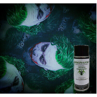 Hydrographic Water Transfer Dip Kit 6oz Activator 1m Why So Serious Film