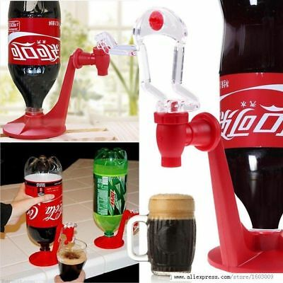 Mini Upside Down Drinking Fountains Fizz Cola Beverage Switch Drinkers Dispenser