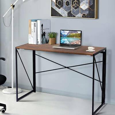 Simple Foldable Computer Desk PC Laptop Table Home Office Work Study Workstation