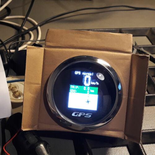 85mm Waterproof Gps Speedometer Digital Odometer Speed