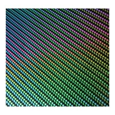HYDROGRAPHIC WATER TRANSFER HYDRO DIPPING FILM CARBON FIBER PRISM 1M