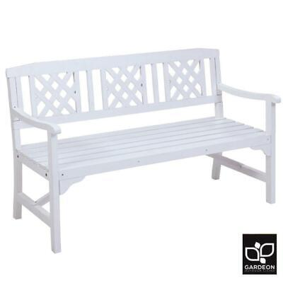 Garden Furniture - RETURNs Gardeon Wooden Garden Bench 3 Seat Outdoor Chair Lounge Patio Furniture