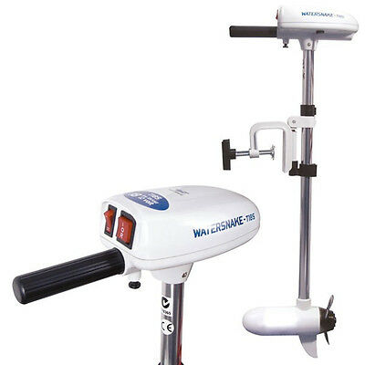 Watersnake Saltwater ASP T18 Transom Mount Electric Outboard Motor 18lb Thrust