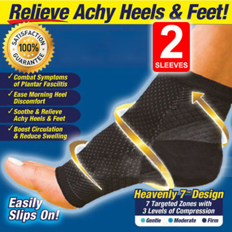 Foot Anti-Fatigue Compression Socks Ankle Support Sleeve Cir