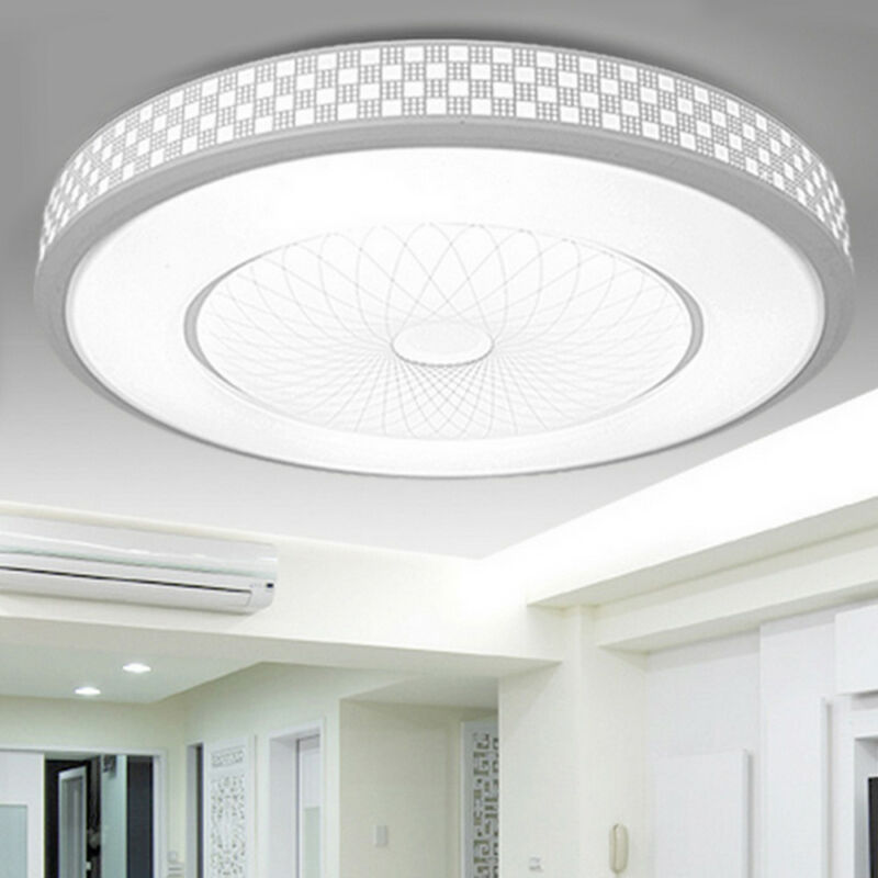 Led Ceiling Lights Round Panel Down, Bright Bathroom Ceiling Lights