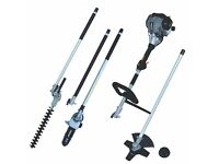 USED Titan TTK587GDO 1.1hp 25.4cc Petrol Landscaping Multi-Tool