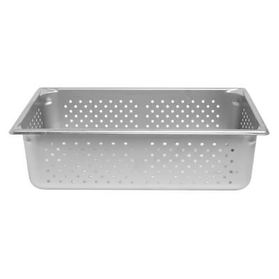 Vollrath Super Pan V Steam Table Hotel Pan Perforated Full Size 6 Deep