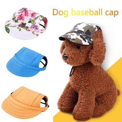 Visors Dog Accessories (Cat Visor Cap Puppy Small Dog Pet Products  Canvas Hat Outdoor)